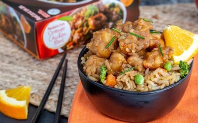 Trader Joe's Orange Chicken and 3 recipes to do at Home
