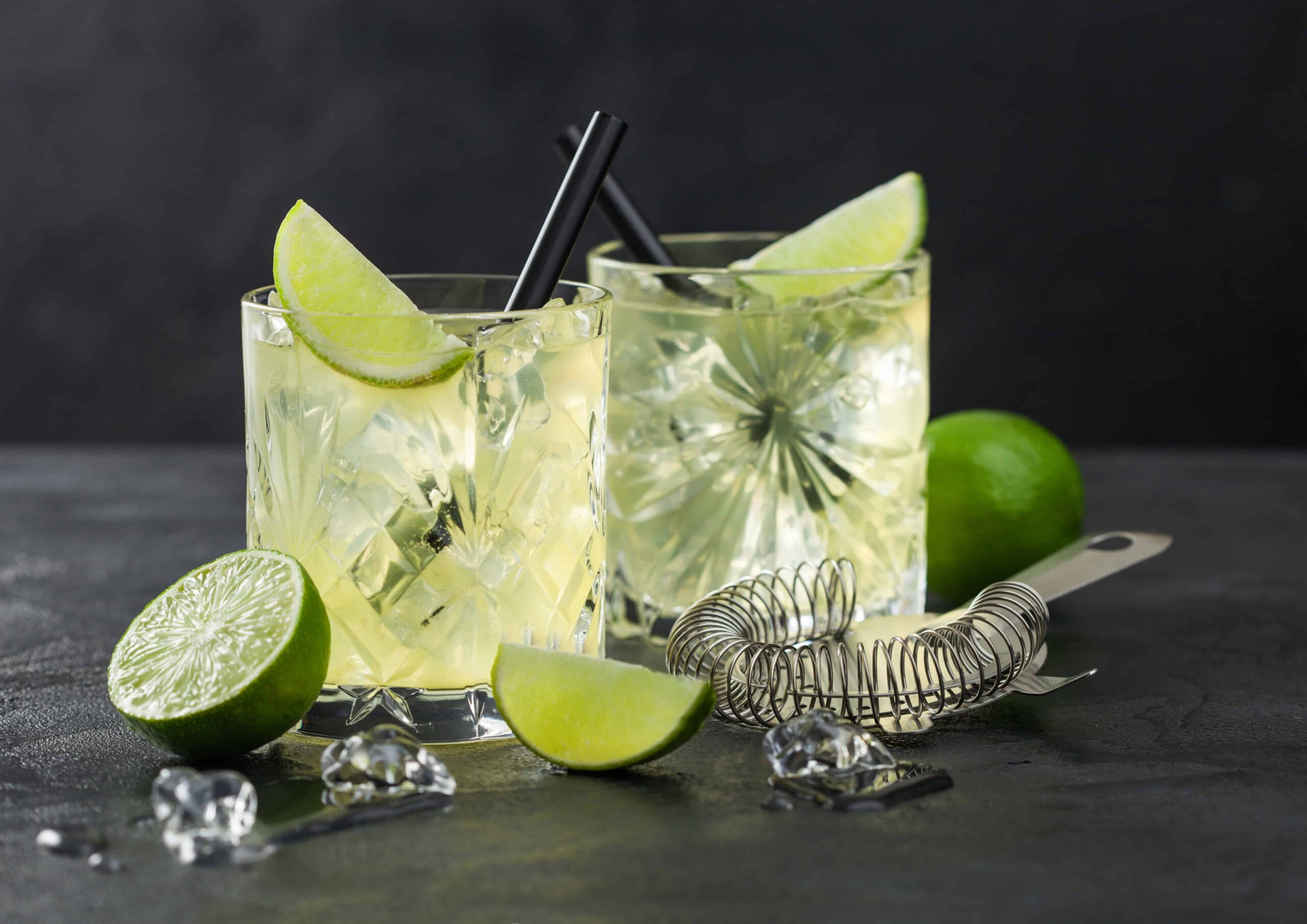 Gin-Lime Drink