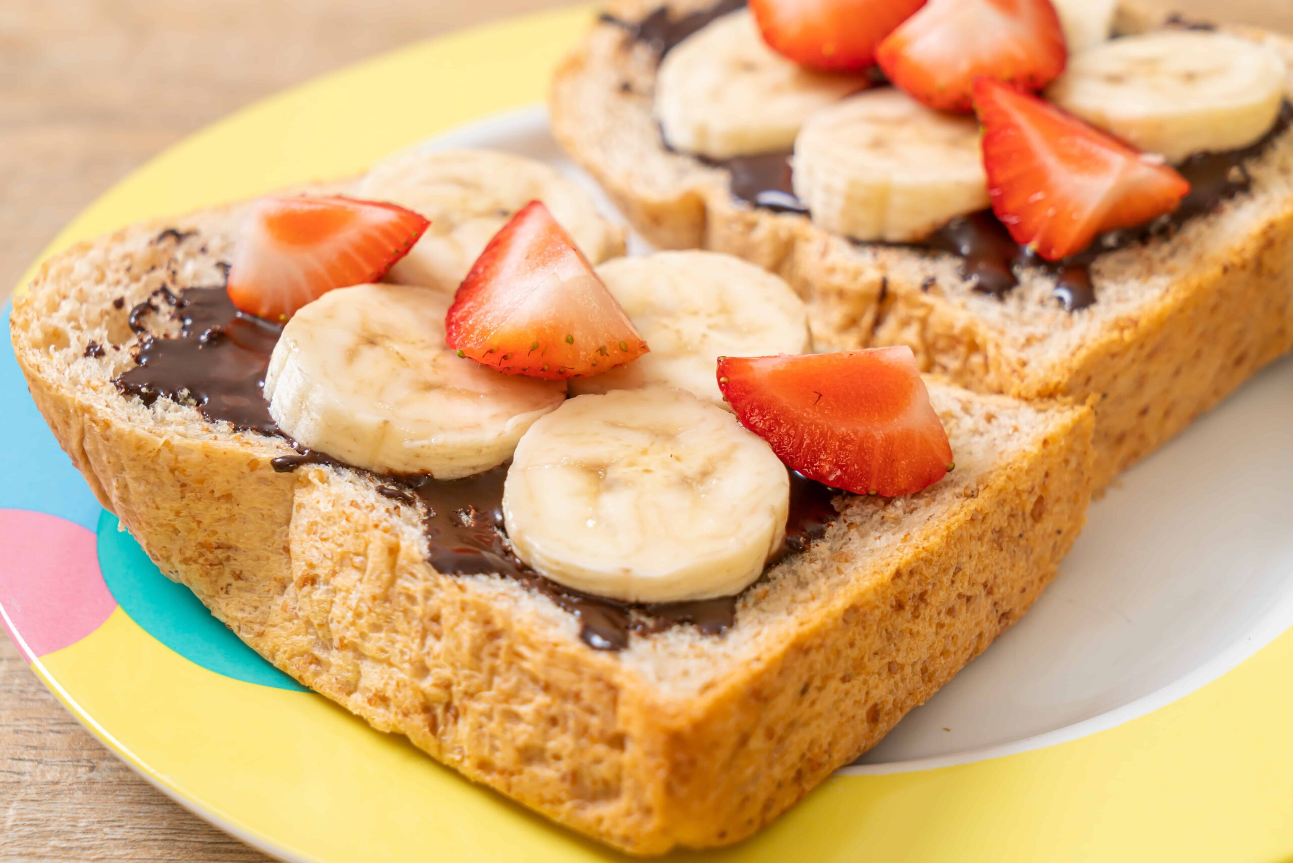 Nutella sandwich with Banana